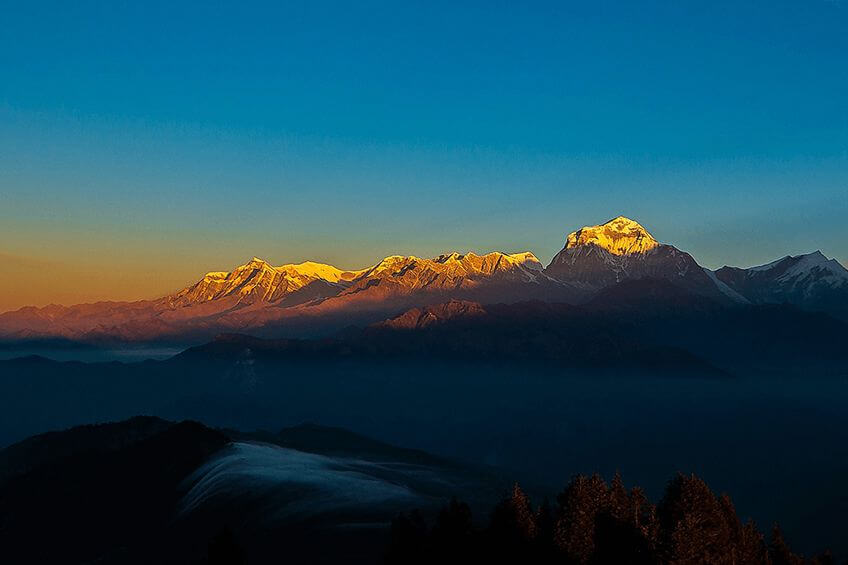 nepal sunrise tour destination